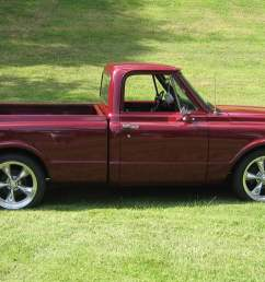 red single cab pickup truck muscle cars chevy chevrolet c k  [ 1920 x 1080 Pixel ]