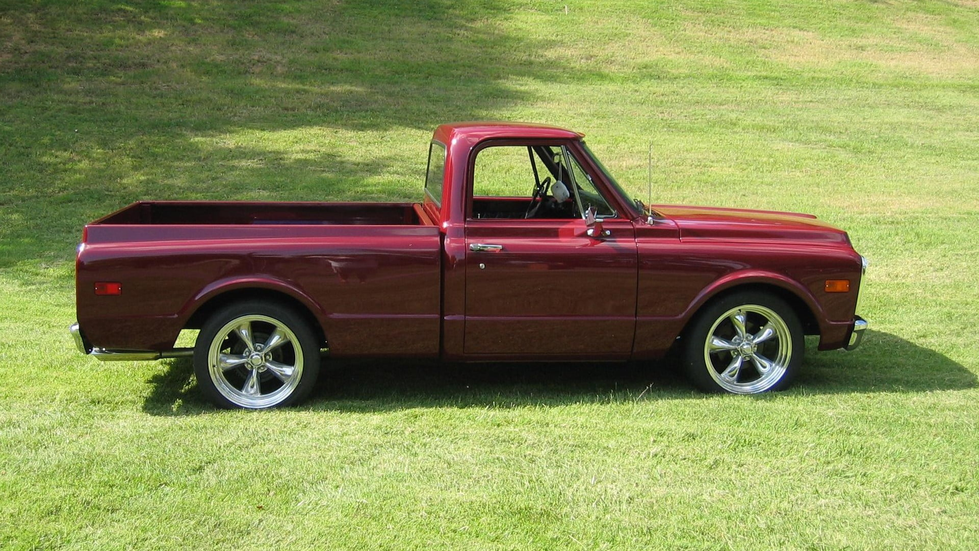 hight resolution of red single cab pickup truck muscle cars chevy chevrolet c k