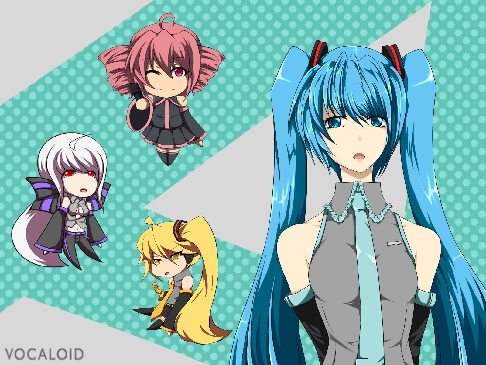vocaloid characters hd wallpaper