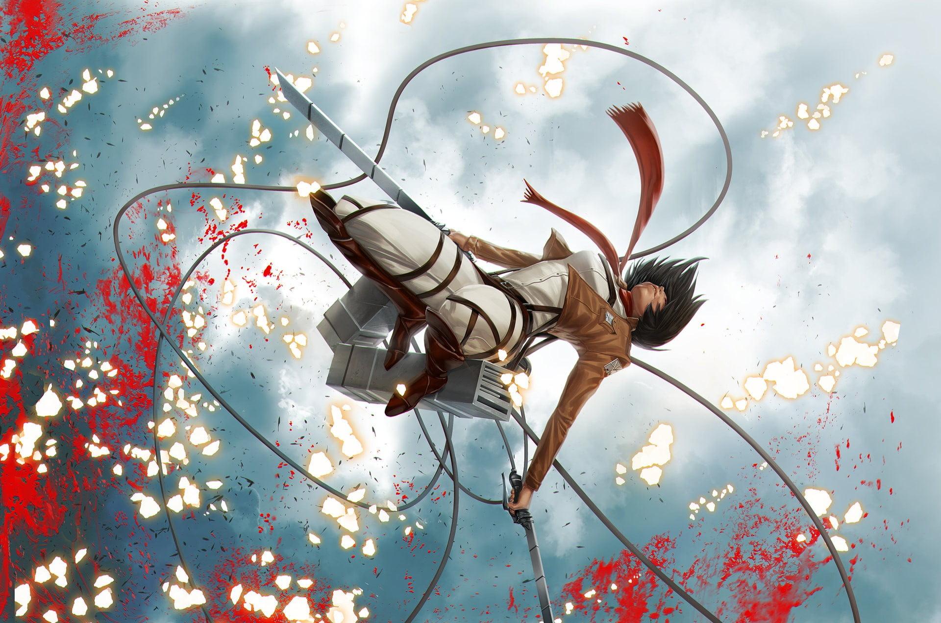 :) #anime wallpaper#anime lockscreen#attack on titan. Attack on Titan Mikasa wallpaper, Shingeki no Kyojin ...