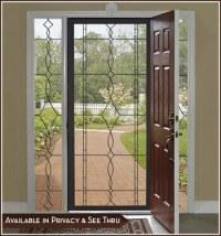 New Leaded Glass Door and Window Films | Decorative Window ...