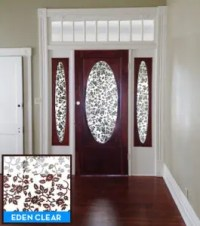 How to Cover Windows in Front Doors?   Decorative Window ...