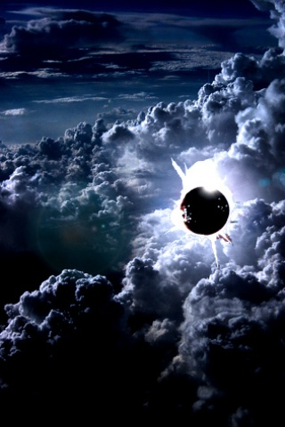 Girl Boy Love Hd Wallpaper Download Download Solar Eclipse Abstract Iphone Wallpaper For