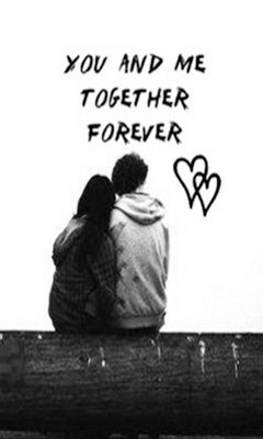 Wallpaper Of Cute Couple With Quotes Download U And Me Together Romantic Wallpapers For Your