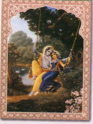Girl Boy Sad Love Wallpaper Download Jhula Sang Krishna Radha Spiritual Wallpaper