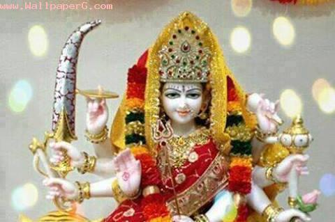 Cute Girly Wallpaper Free Download Download Jai Mata Di 1 Spiritual Wallpaper For Your