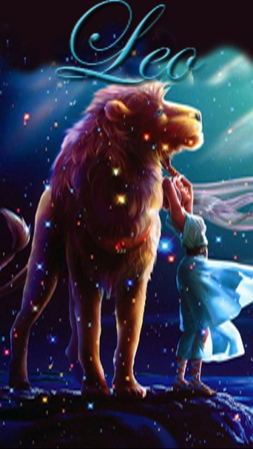 Cool Girl Wallpaper Free Download Download Leo Z Zodiac Signs For Your Mobile Cell Phone