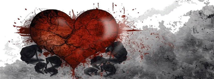 Cute Baby Couple Wallpapers Free Download Download Broken Heart Black Rose Fb Cover Love Facebook