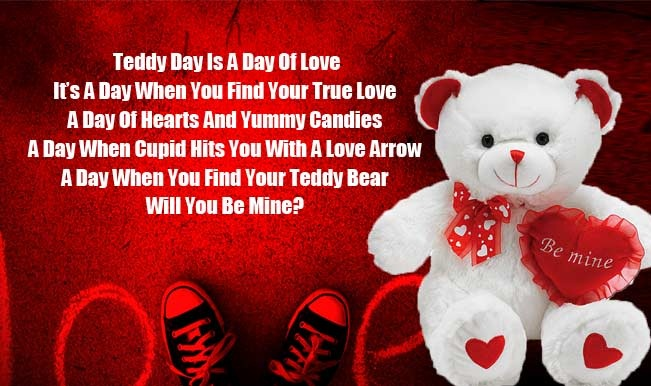 Cute Couple Hug Hd Wallpaper Download Download Teddy Bear Day Heart Touching Quotes Teddy Bear