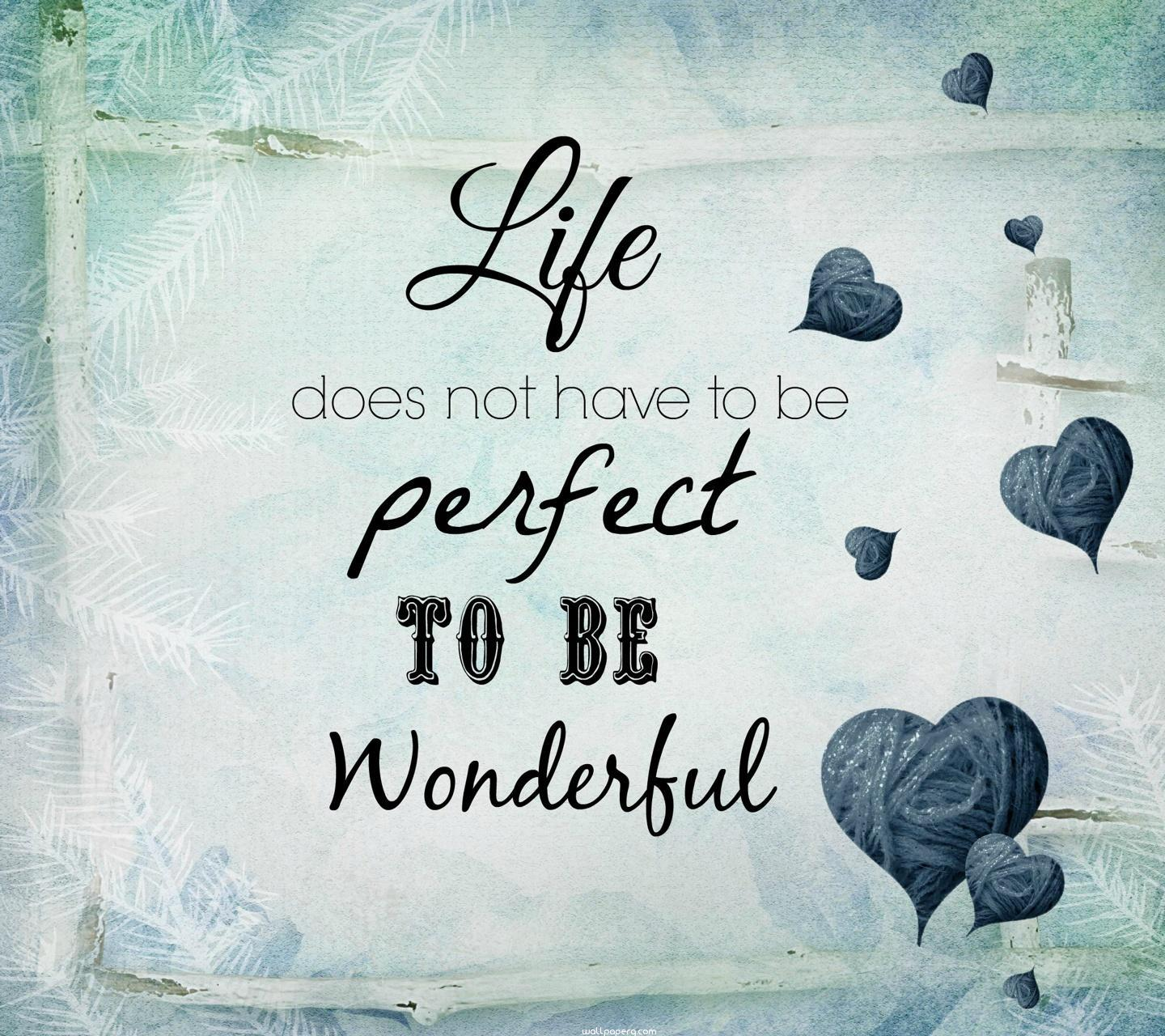 Cute And Stylish Baby Girl Wallpaper Download Wonderful Life Quote Hd Wallpaper For Laptop