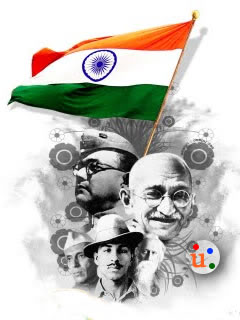 Cute Sad Baby Girl Wallpaper With Quotes Download Flags Indian Freedom Fighters Republic Day
