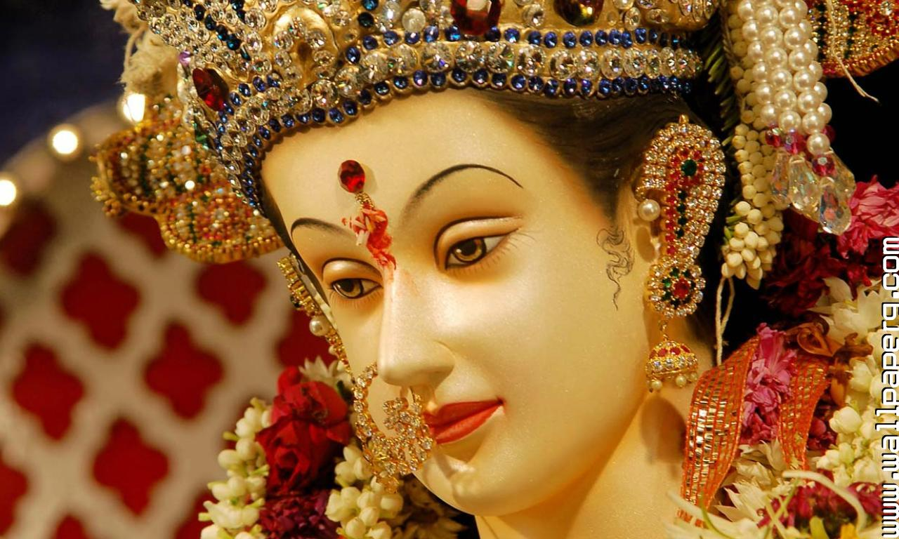 Cute Baby Girl Wallpapers For Whatsapp Download Ma Durga 9 Navratri Special Pics For Your