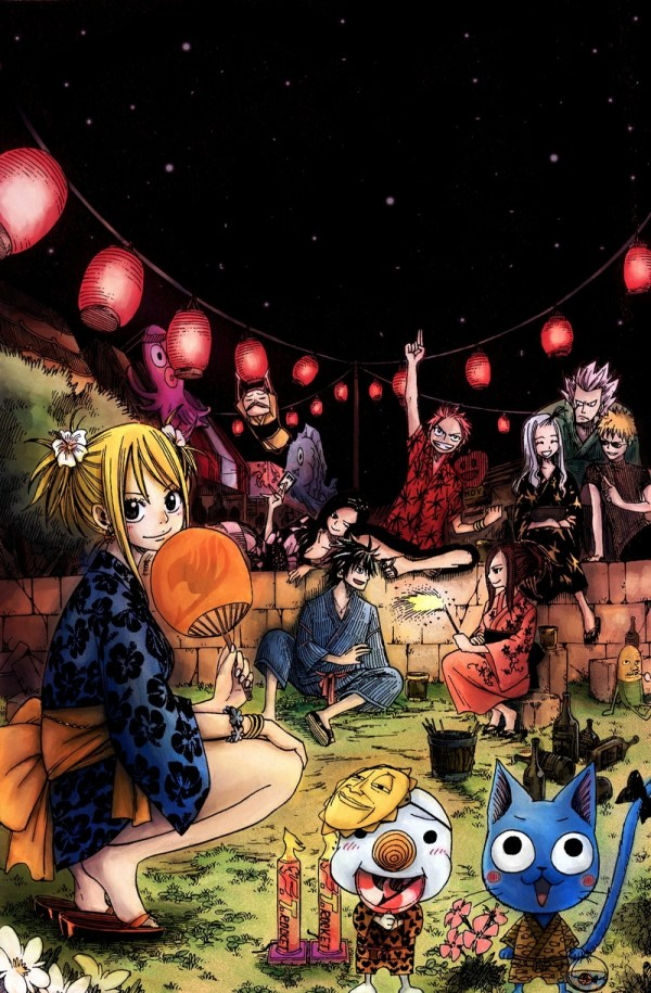 Natsu And Lucy Lemon - Year of Clean Water