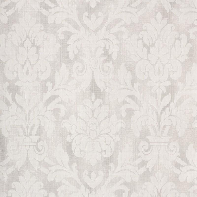 Beaune Ivory White Damask3300024