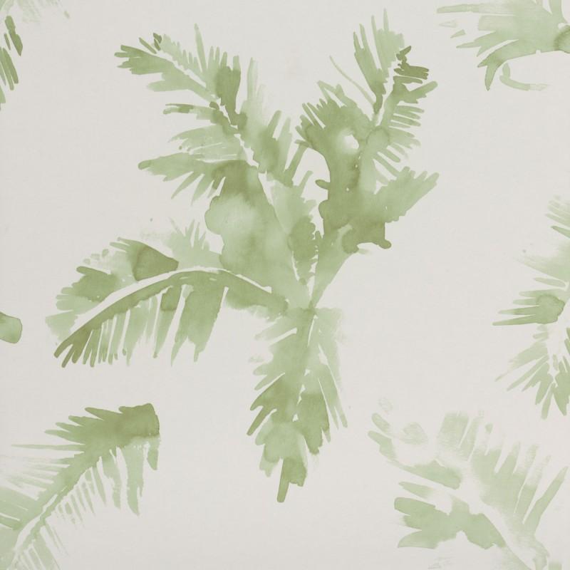 Palmeras Watercolour Fresh Green3900020