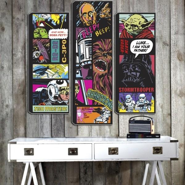 Star Wars Wall Canvas Art