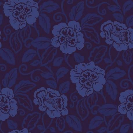 Belle Royal Blue Flock980508