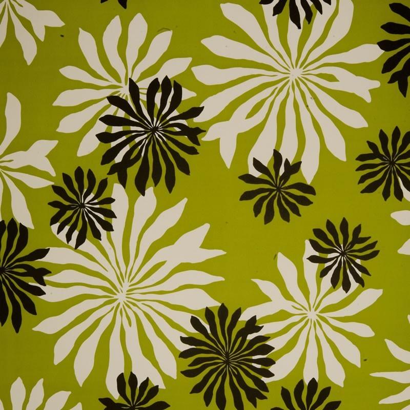 Missprint MISP1015 Fleur Lime Green Wallpaper Missprint