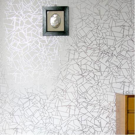 Erica Wakerly Angles Wallpaper Angles White Wallpaper