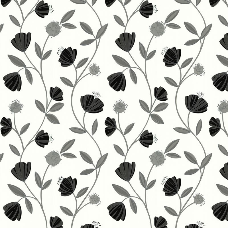 Capri Grey White Wallpaper Grey Wallpaper Buy Wallpaper