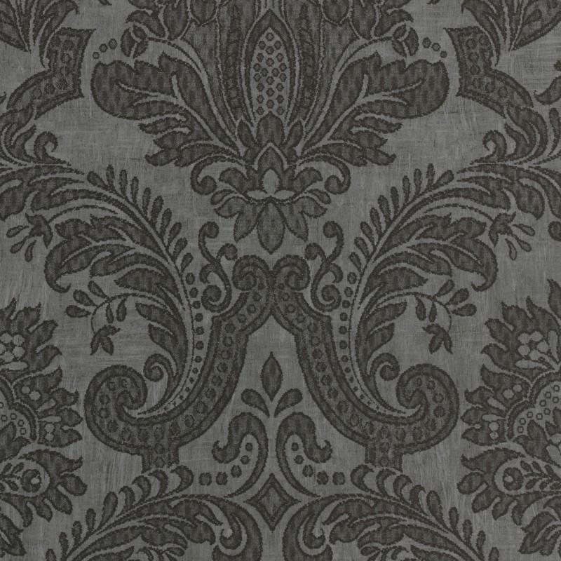 3d Effect Wallpaper For Living Room Equus Black On Dark Grey 25006