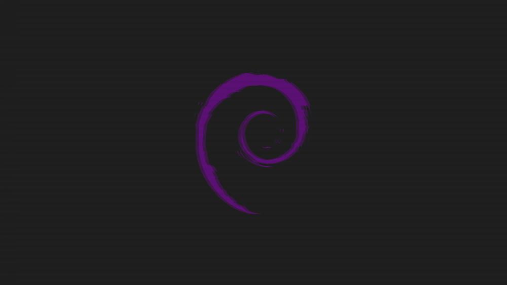 Car Phone Wallpaper Reddit Wallpaper Linux Debian Logo Purple Wallpapermaiden