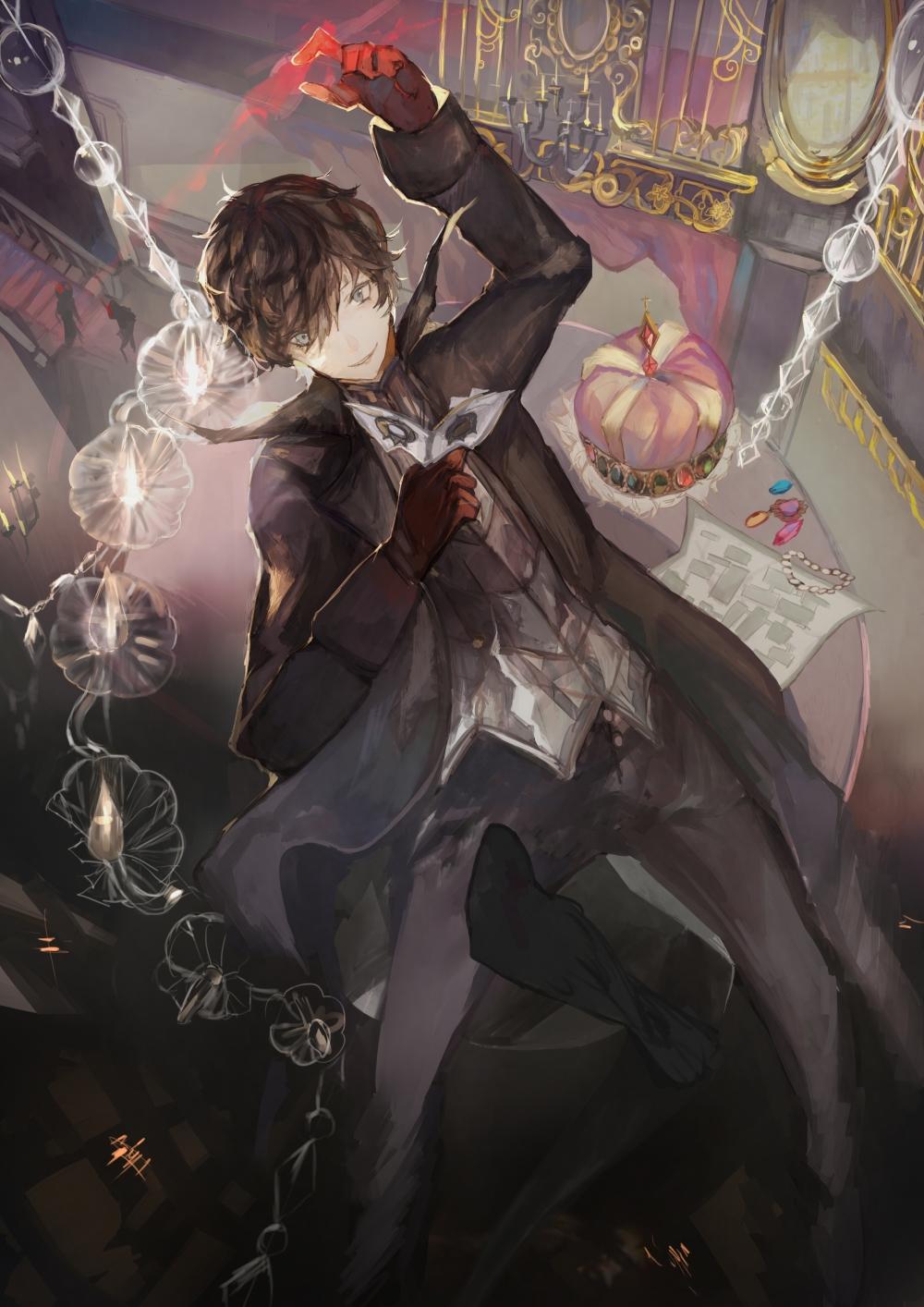 Cute Makoto Wallpaper Wallpaper Kurusu Akira Joker Shin Megami Tensei Persona