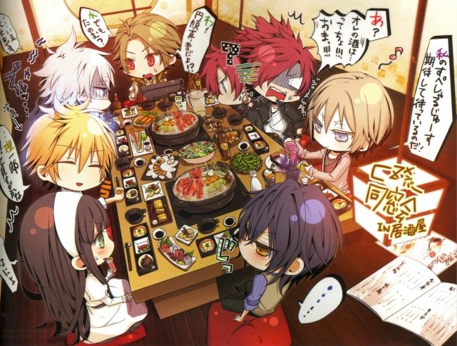 5 Inch Screen Hd Wallpapers Wallpaper Clock Zero Shuuen No Ichibyou Anime Boys Chibi