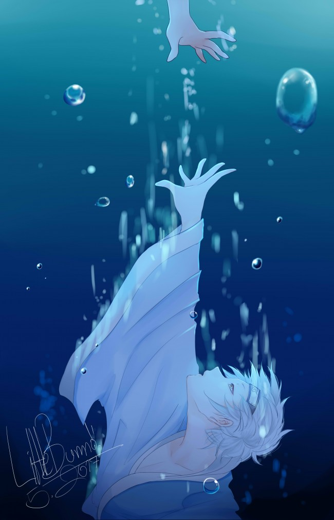 Sad Girl Wallpaper Cartoon Wallpaper Mitsuki Drowning Boruto Underwater