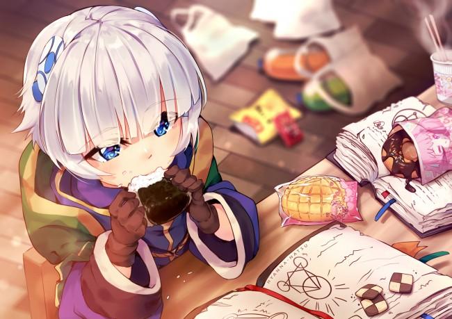 Bad Girl Anime Wallpaper Wallpaper Re Creators Meteora Osterreich Loli White