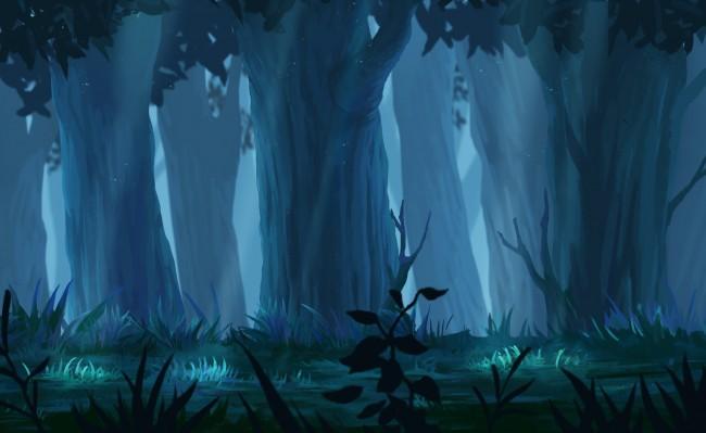 Berserk Iphone Wallpaper Wallpaper Anime Forest Landscape Trees Sunbeam Plants