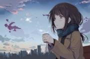 1500x989 anime girl profile