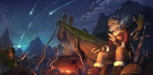 Zelda Botw Wallpaper Iphone X Wallpaper The Legend Of Zelda Link Night Bonfire Sword