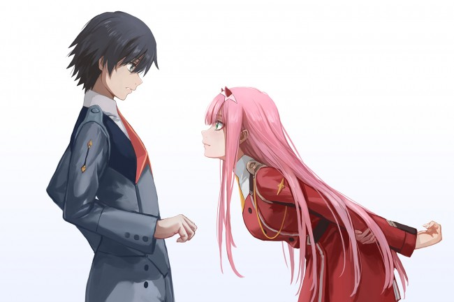 Image result for hiro and zero two