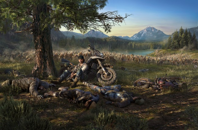 5 Inch Screen Hd Wallpapers Wallpaper Days Gone Playstation 4 Zombies Wallpapermaiden