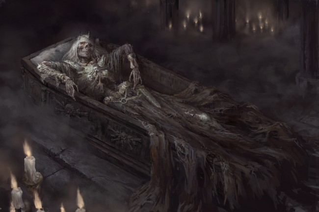 5 Inch Screen Hd Wallpapers Wallpaper Skeleton Coffin Horror Scary Crown