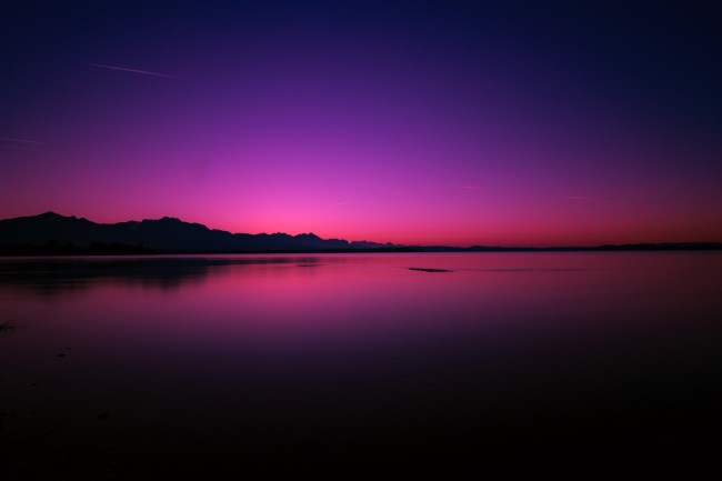 3d Animated Wallpapers For Windows 7 Download 2560x1440 Twilight Sunset Horizon Purple Sky