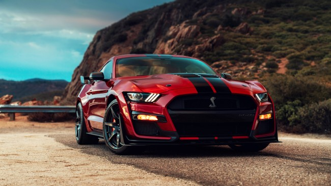 Apple Iphone Screen Wallpaper Wallpaper Ford Mustang Shelby Gt500 2020 Red And Black