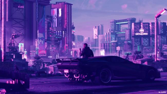 5 Inch Screen Hd Wallpapers Wallpaper Cyberpunk 2077 Synthwave Sci Fi Games