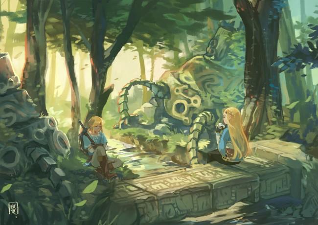 Animated Wallpaper For Tablet Download 1920x1080 Princess Zelda Link The Legend Of