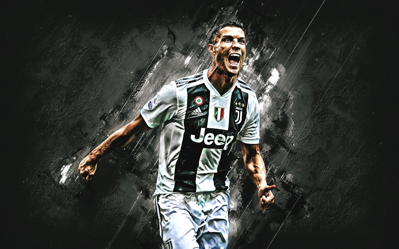 Hd Wallpaper Download 2560x1600 Cristiano Ronaldo Juventus Fc