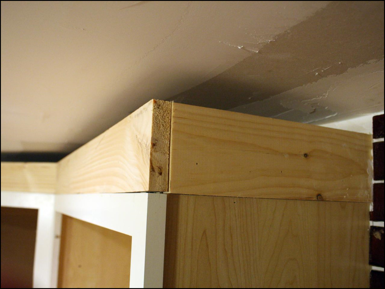 kitchen cabinet trim installation wall coverings installing crown molding cabinets video