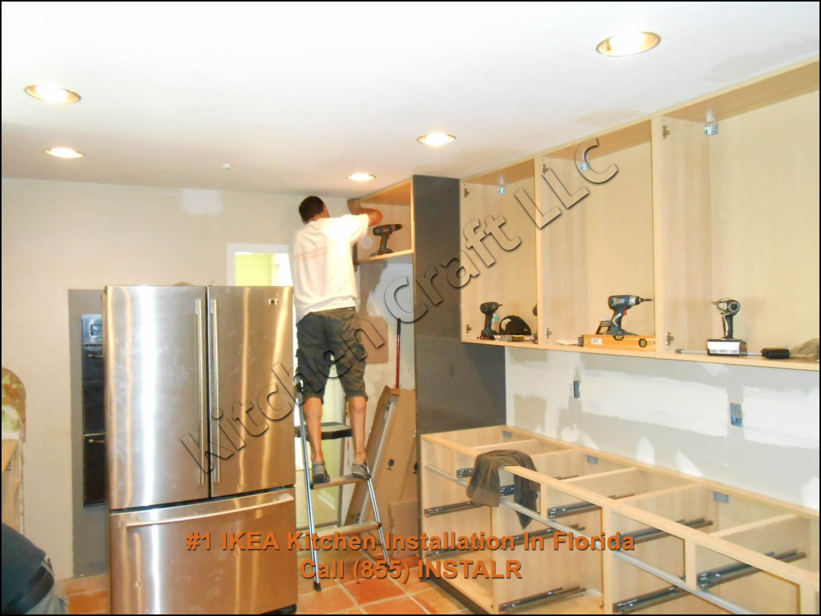 ikea kitchen cabinet installation small lighting installing cabinets youtube price to set up