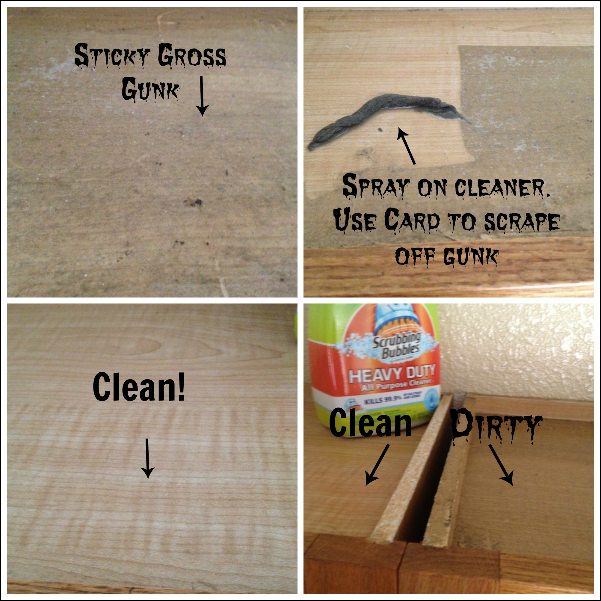 kitchen cabinet cleaner recipe cabinets glass doors organic degreaser for wood great