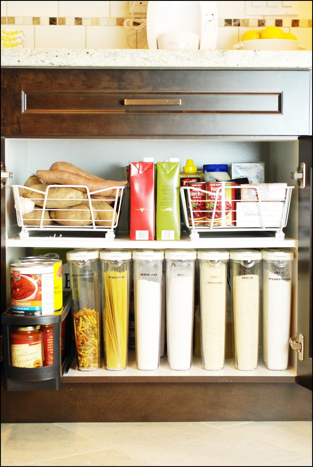 kitchen cabinet organization how to make island systems 13