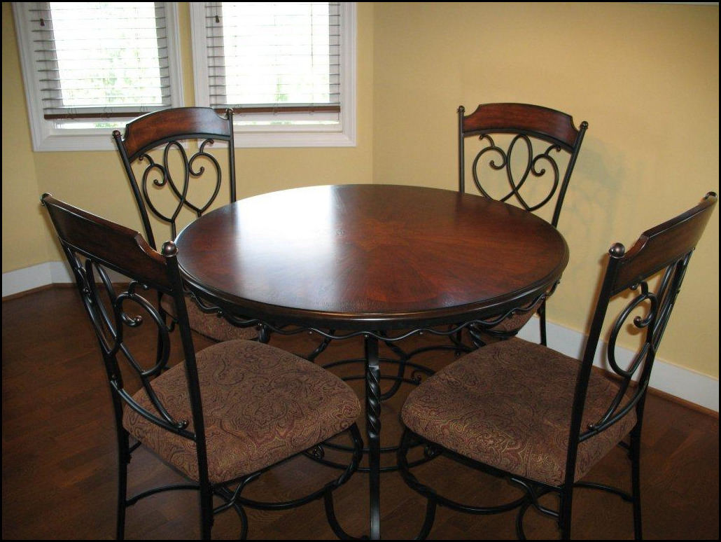 wrought iron kitchen sets cheapest wood for cabinets indoor dining room