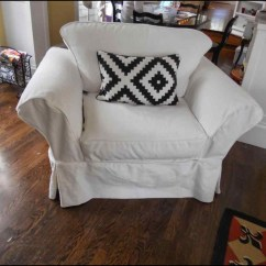 Pottery Barn Anywhere Chair Cover Shrunk Outdoor Chaise Lounge Chairs Slipcovers