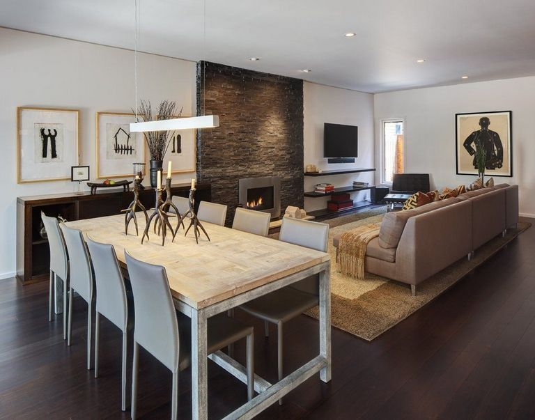 Dining Table In Living Room