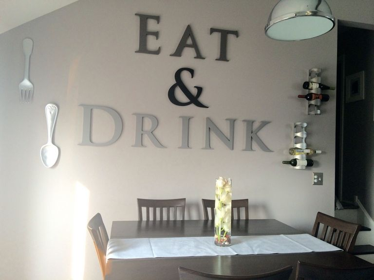 Eat Letters For Kitchen