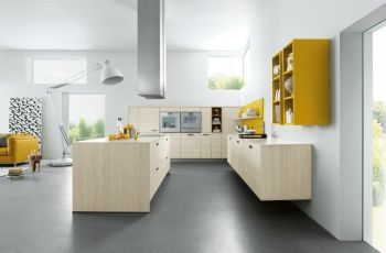 Floating Kitchen Cabinets